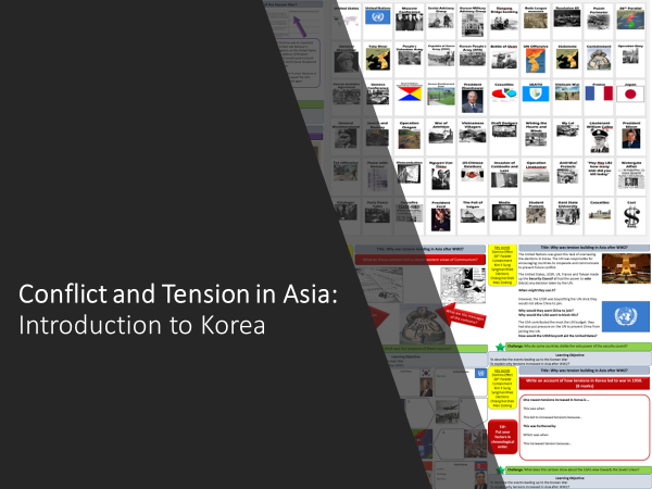 Conflict and Tension in Asia: Korean War Bundle