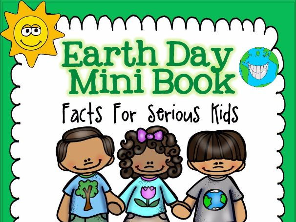 Earth Day Mini Book - Simple Facts For Serious Kids