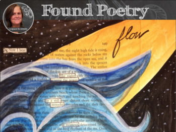 Found Poetry Project - Blackout Poetry Project UK and US versions included