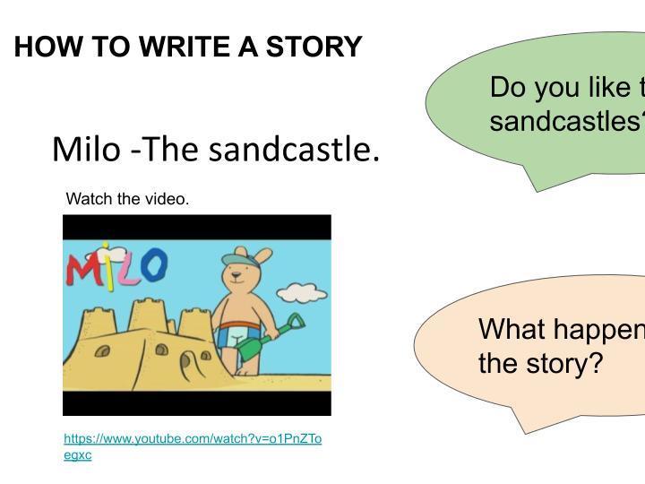 How to Write a Story - KS1 and KS2 Beach Topic