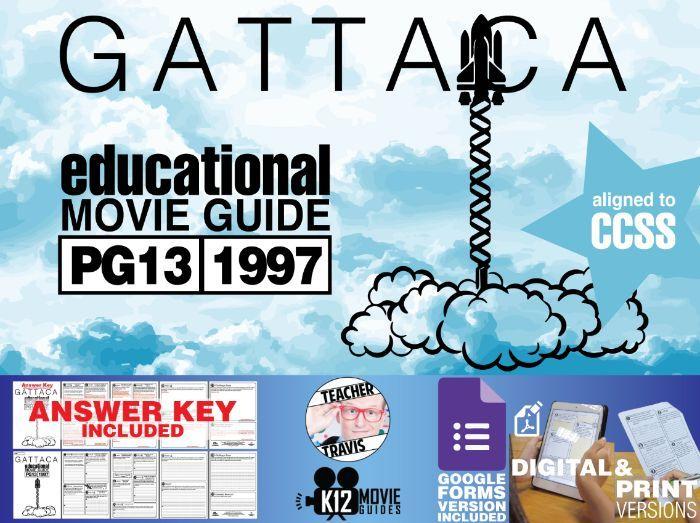 Gattaca Movie Guide | Questions | Worksheet (PG13 - 1997 ...