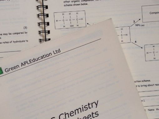 Chemistry: A Level Homework Package