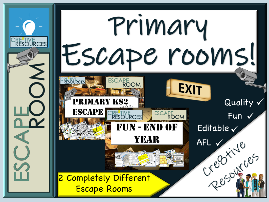 Primary KS2 Escape Rooms