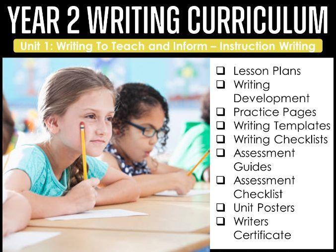 Year 2 Writing Curriculum - Instruction Writing