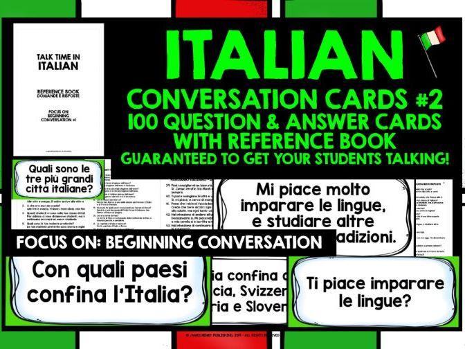 ITALIAN GCSE SPEAKING PRACTICE 2