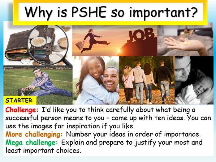 PSHE KS4 Introduction