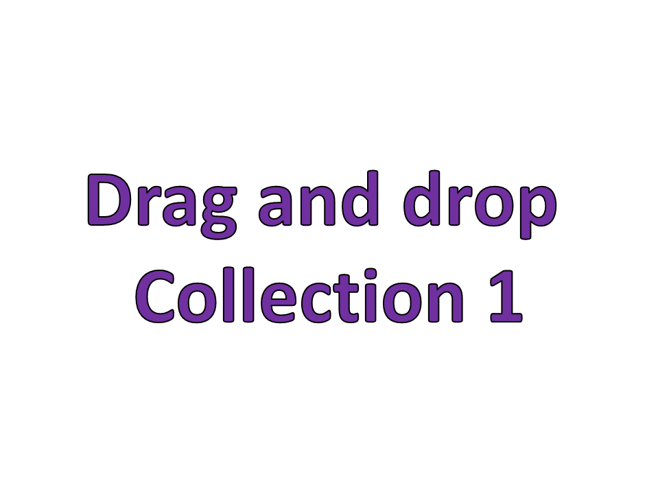Drag and Drop Collection 1