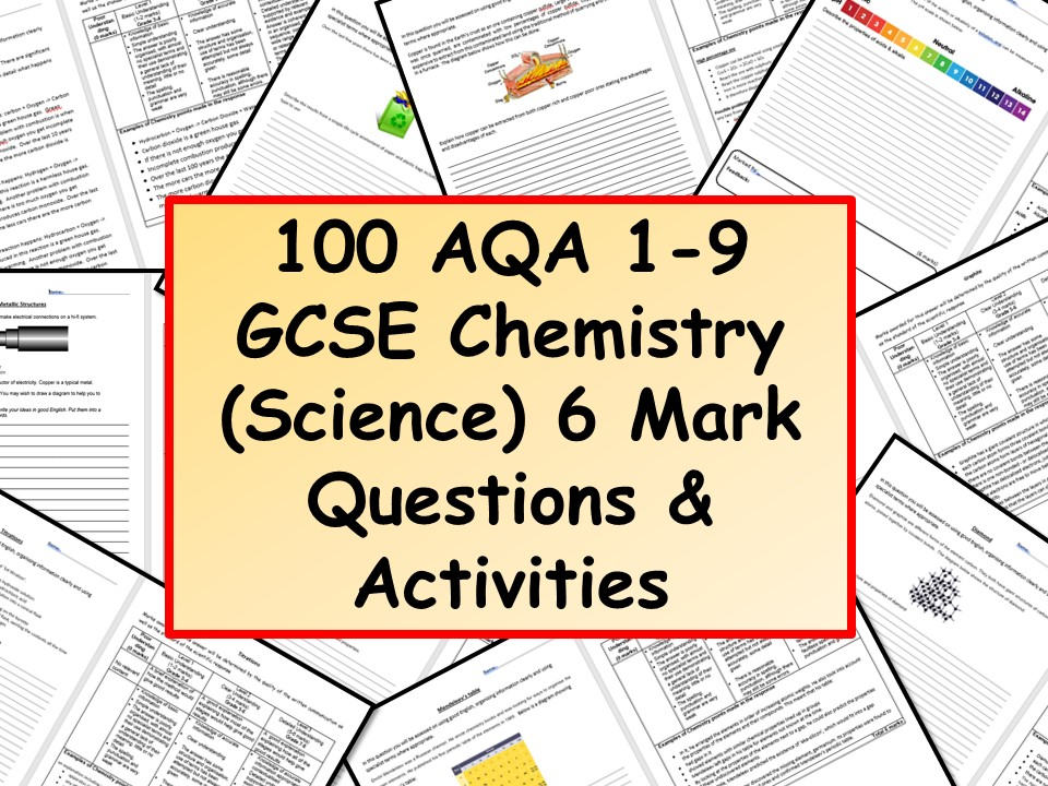 chemistry coursework mark scheme gcse Mark scheme – gcse chemistry – paper 1h – specimen material mark schemes are prepared by the lead assessment writer and considered, together with the relevant questions, by a panel of subject teachers.