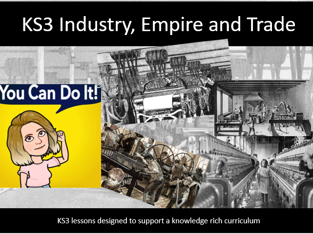 KS3 Industrial Revolution 3. What were the reasons for the industial revolution?