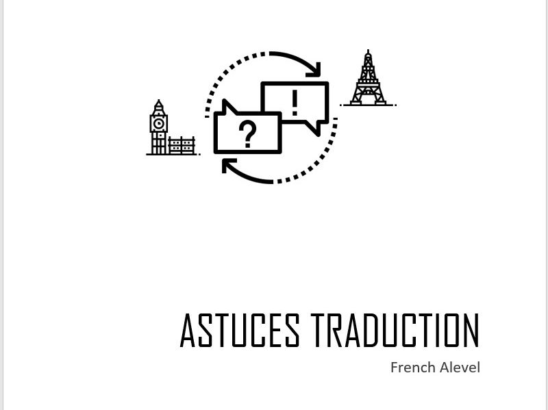 French A level translation tips