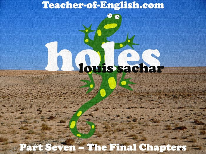 Holes – The Final Chapters (PowerPoint, lesson plans & worksheets)