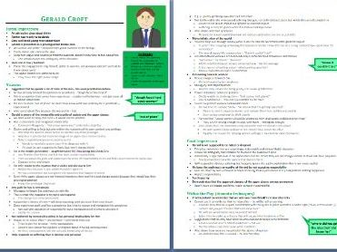 Gerald Croft Grade 9 Character Study/Revision Guide (An Inspector Calls - 6 pages)