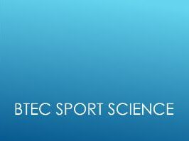 BTEC Sport: Fitness Training & Programming (Full unit with PowerPoint, worksheets & Unit Plan)