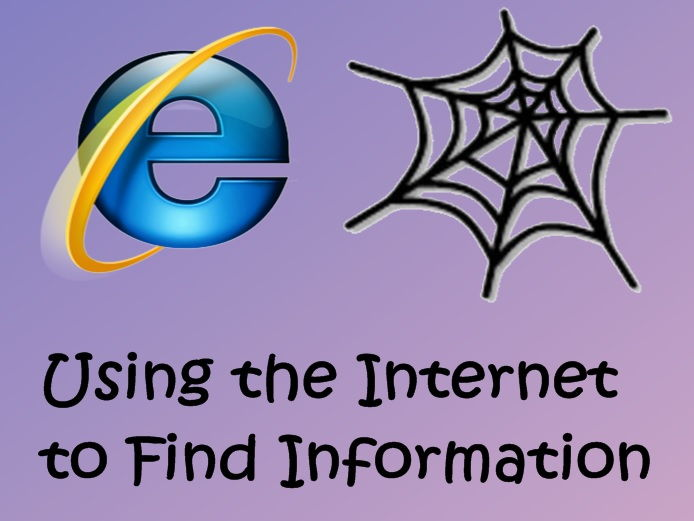Computing / IT (Year 2) – Finding information - Internet (6 lessons plans and Notebook)
