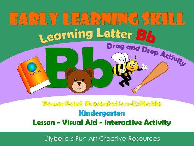 Letter Bb - Lesson - PowerPoint Presentation