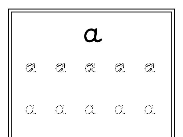 Handwriting Resource (Precursive Font)