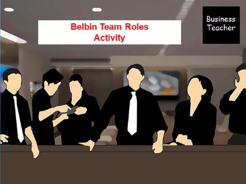Belbin Team Roles Activity
