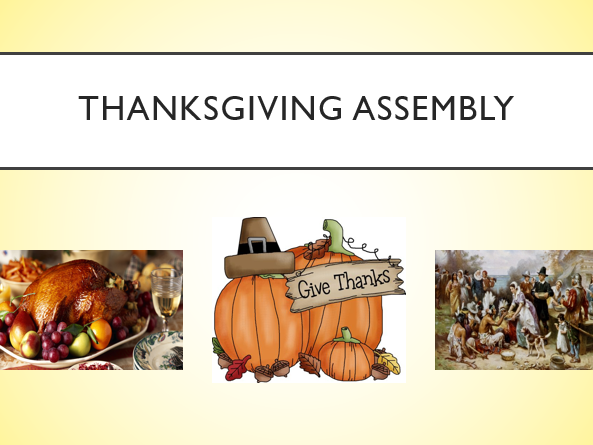 Thanksgiving Assembly