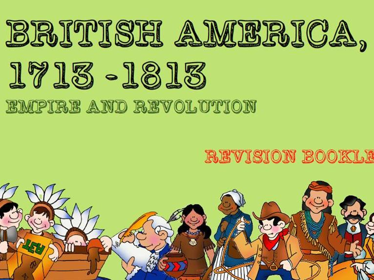GCSE British America Revision Booklet