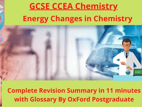 GCSE CCEA Chemistry Energy Changes in Chemistry Complete Revision Summary
