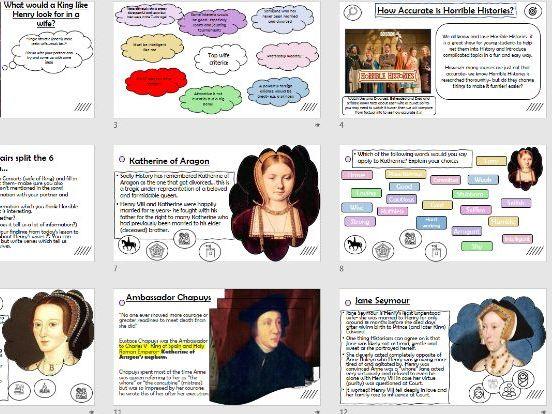 Tudor Queens Henry VIII Wives