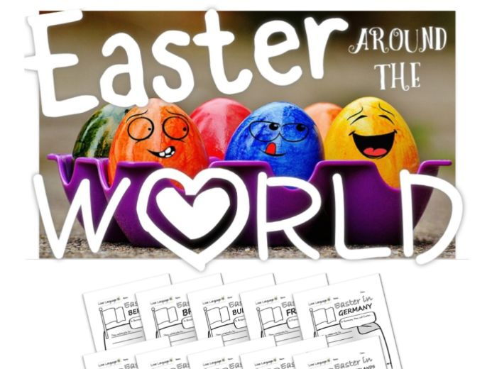 Easter Around the World - Research Activities