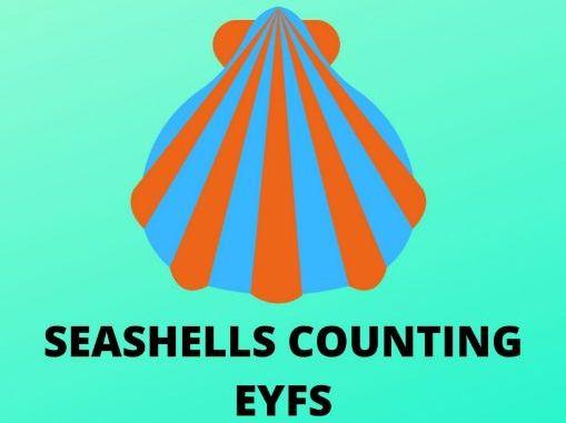 Counting seashells with the Mermaid  Phoebe - EYFS Worksheet