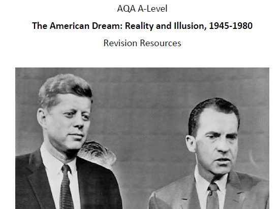 AQA A-Level American Dream Revision Pack