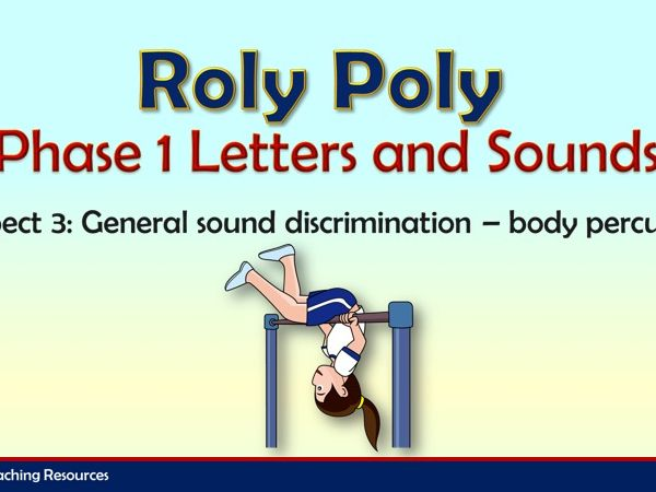 Roly Poly - Letters and Sounds Phase 1