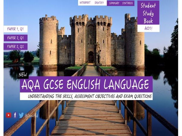 aqa gcse english cover sheets for coursework