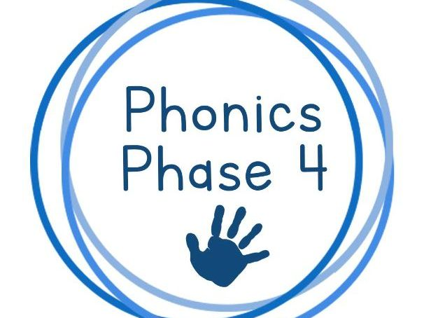 Phonics Phase 4 Resources