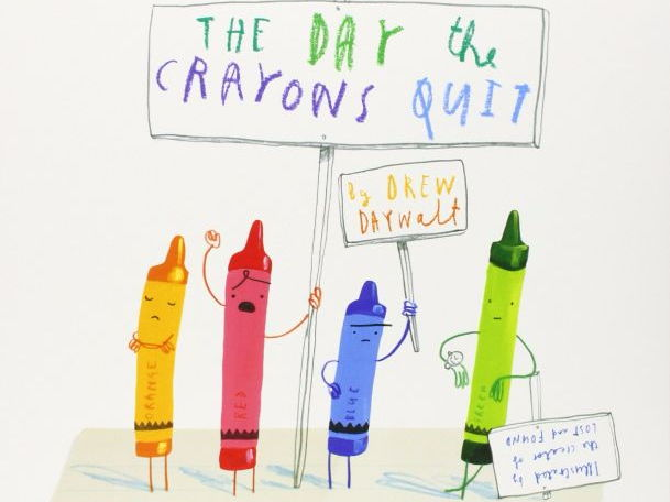 Year 1/2 Writing Plans and Resources: The Day The Crayon's Quit (Week 1 out of 2)