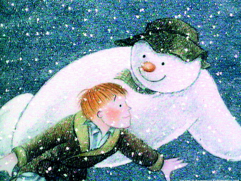Talk for Writing model text: Snowman's Journey