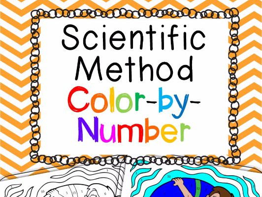 Scientific Method Color-by-Number