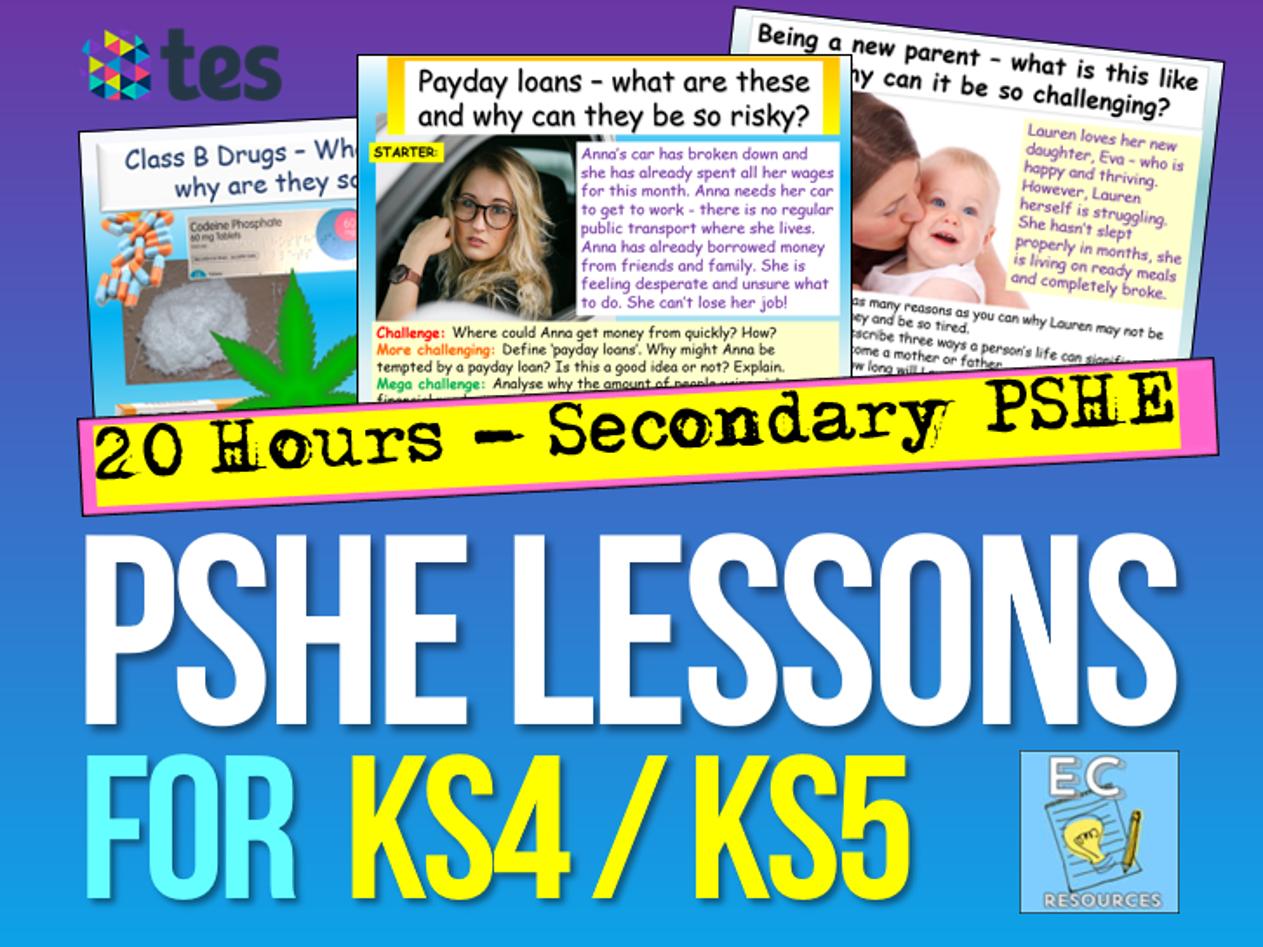KS4 / KS5 PSHE