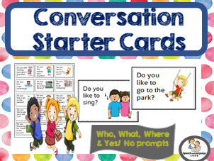 Conversation Starters - Conversation Skills - Questions to initiate