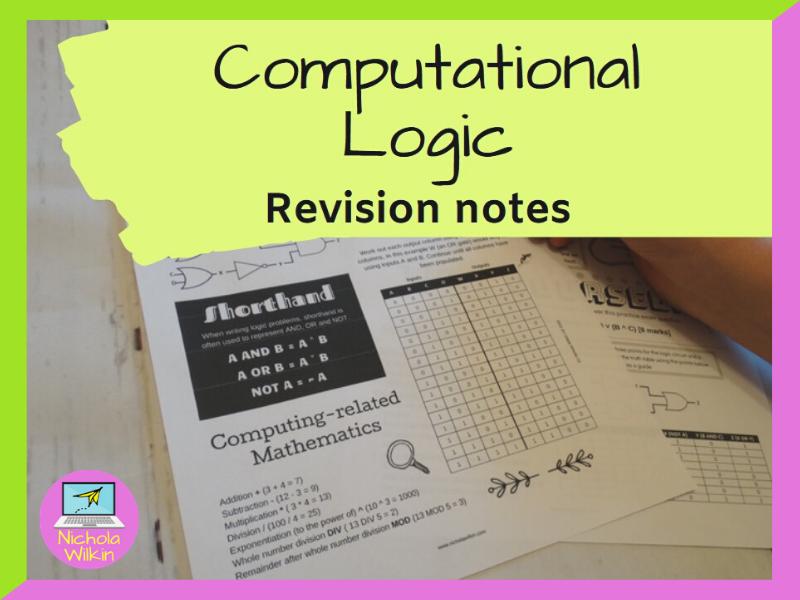 Computational Logic Revision Knowledge Organiser