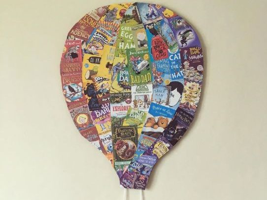 Hot air balloon display books