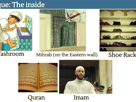 Muslim Places of Worship (Inside a Mosque) - KS1