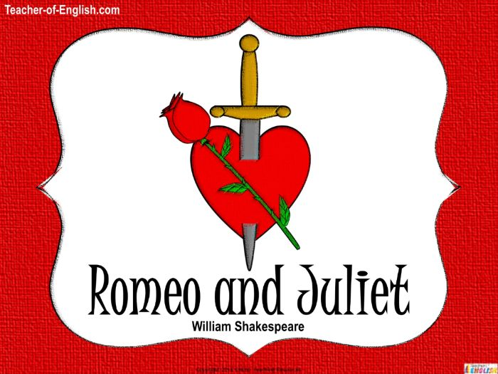 Romeo and Juliet - An Introduction to Shakespeare