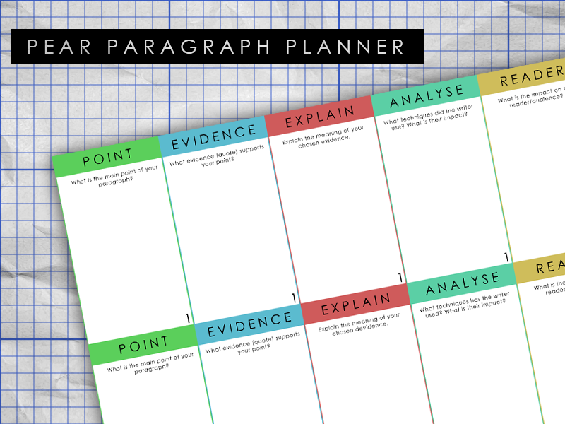 PEAR Paragraph Planner