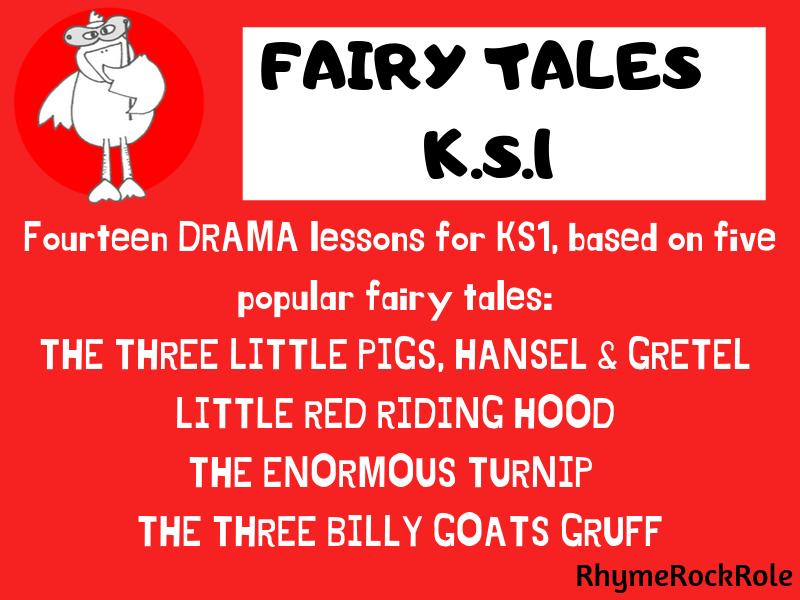 FAIRY TALES Drama Unit-5 tales for K.S.1