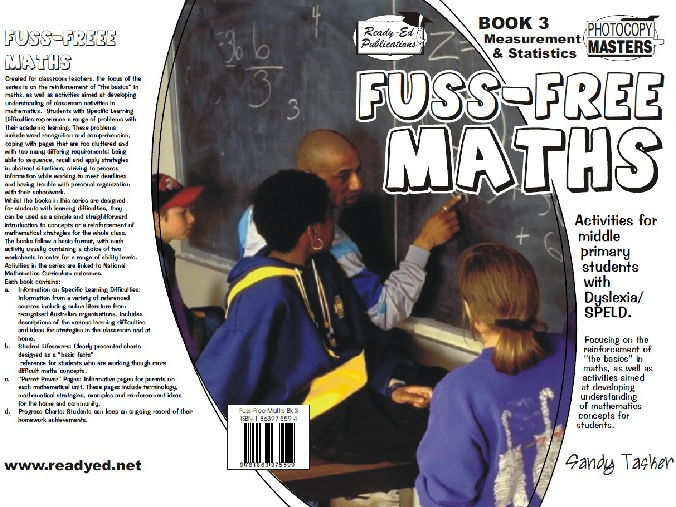 Fuss Free Maths - Book 3: Measurement, Chance and Data