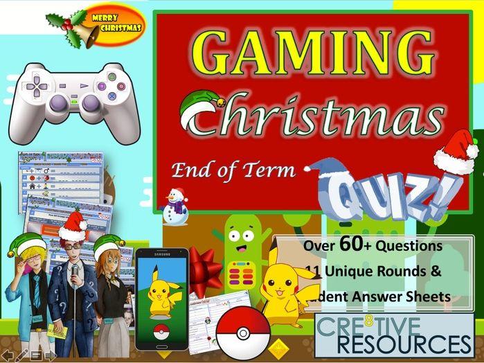 Gaming Quiz - Christmas Quiz 2019