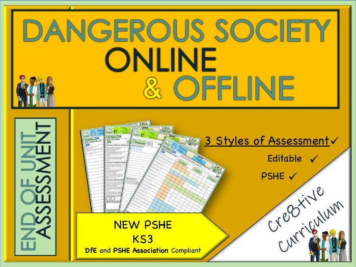 Dangerous Society Online and Offline Assessment