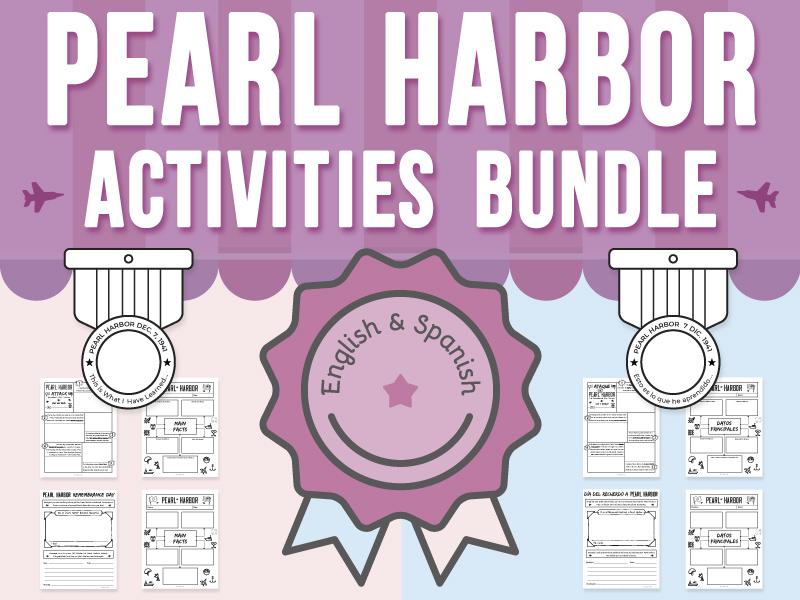 Pearl Harbor Activities BUNDLE