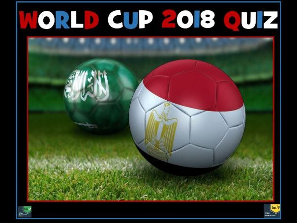 World Cup 2018 FREE Quiz