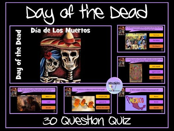 Day of the Dead Quiz