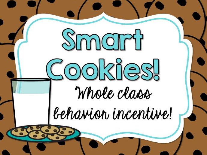 """Smart Cookies"" Behavior Incentive Freebie"