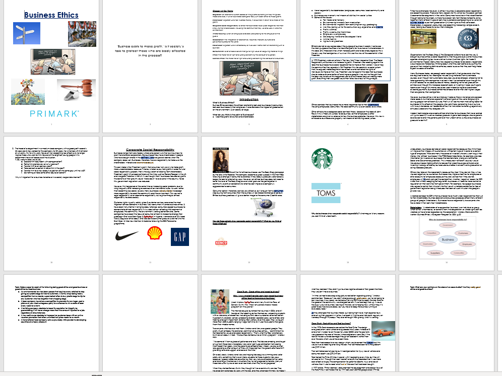 AS Level Ethics Bundle (All 6 topics)